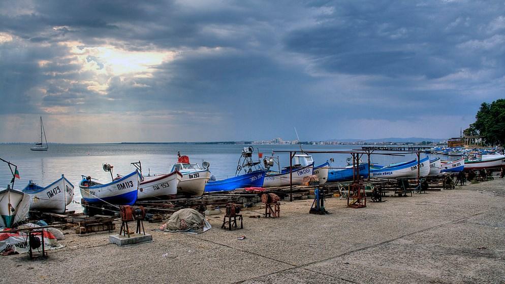 Порт_Болгария_Поморие_лодки