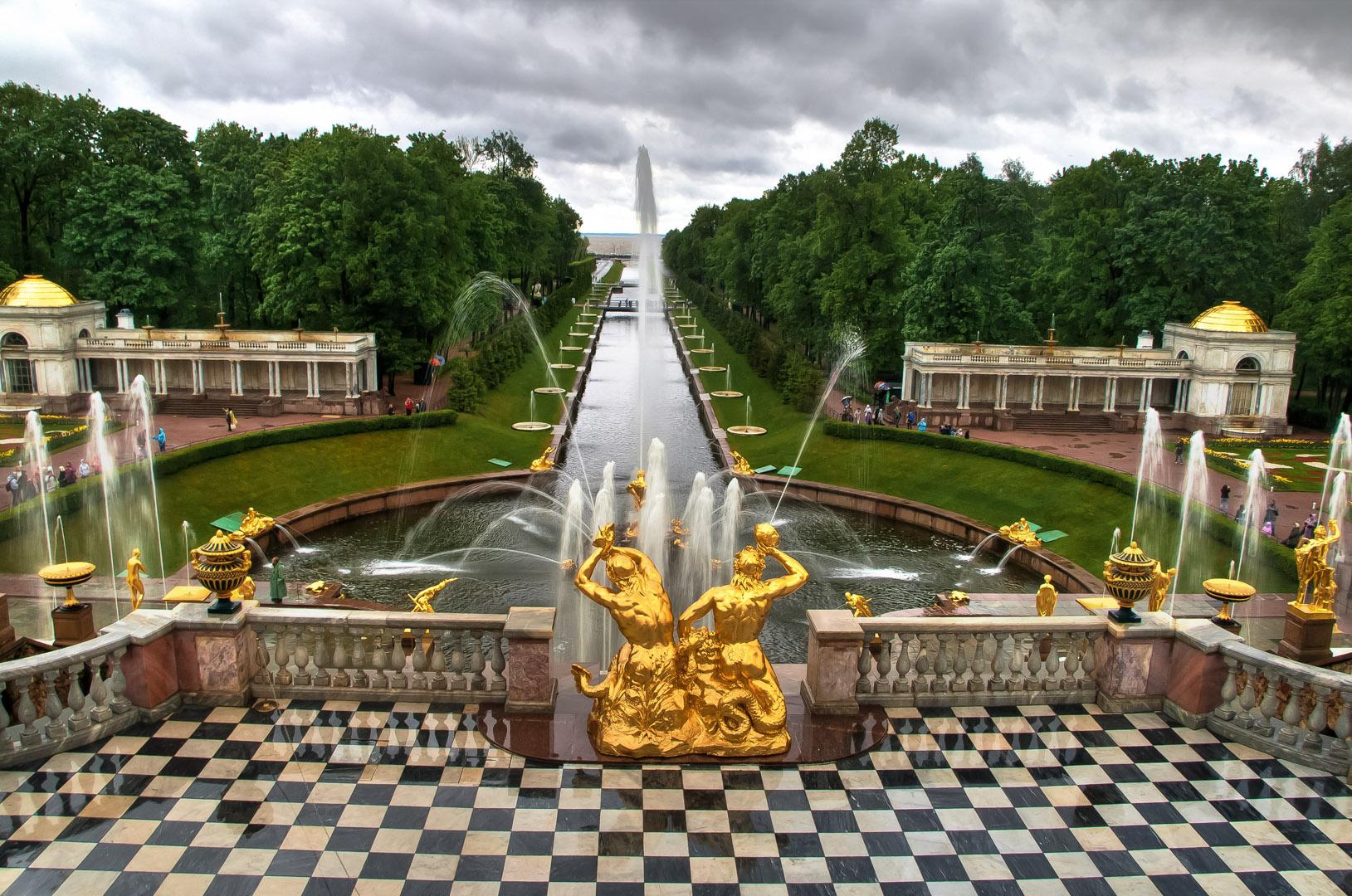 Петергорф_Санкт_Петербург_Россия