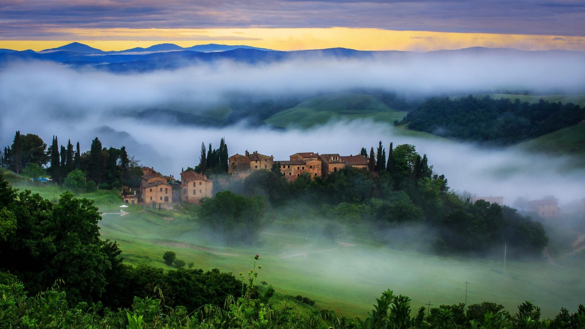 Toscana_Italy_красоты_Италии_Тоскана