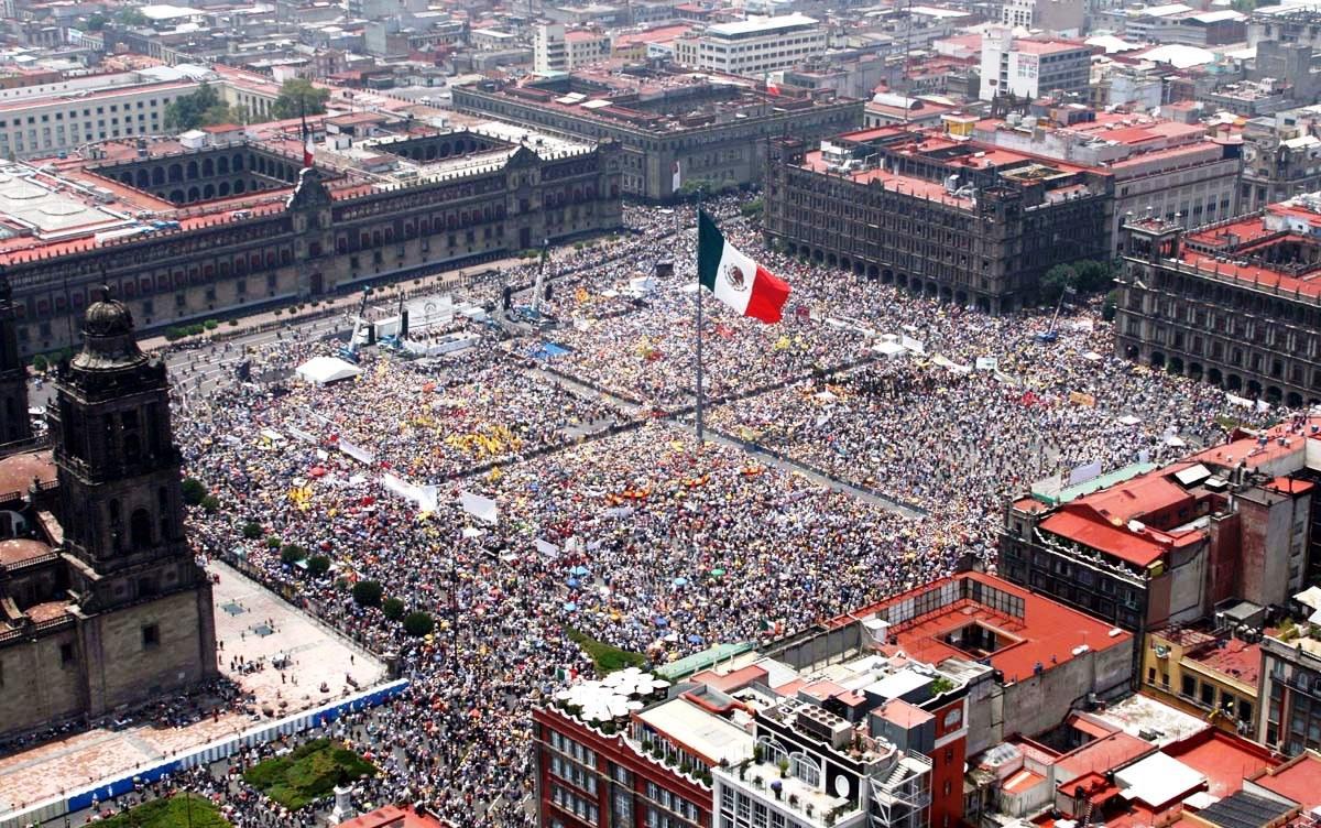 Площадь-Конституции-в-Мехико.-Мексика