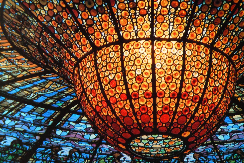 Palau_de_la_Musica_Catalana_дворец_каталонской_музыки_Барселона_купол_дворца