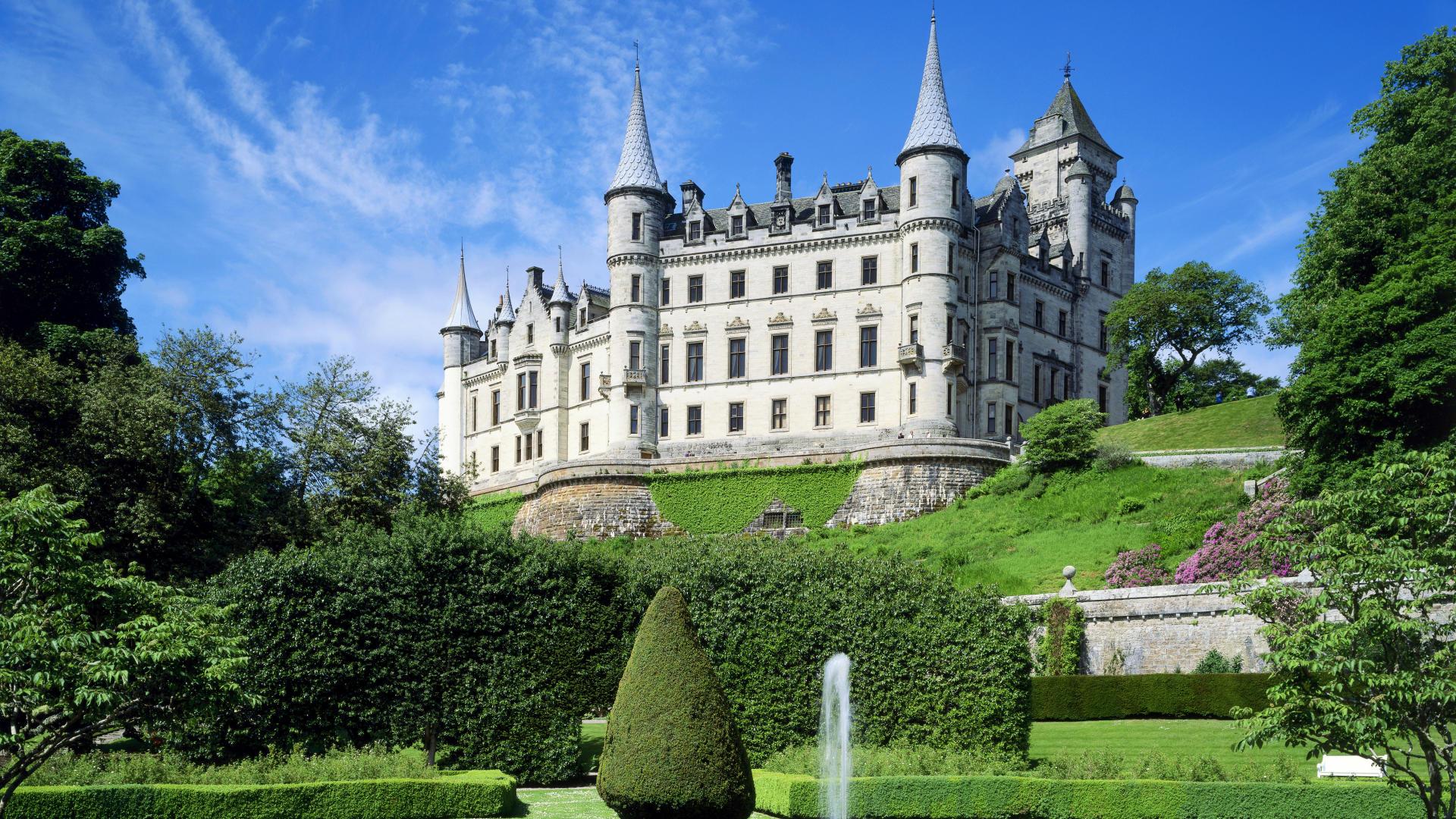 Шотландия_замок