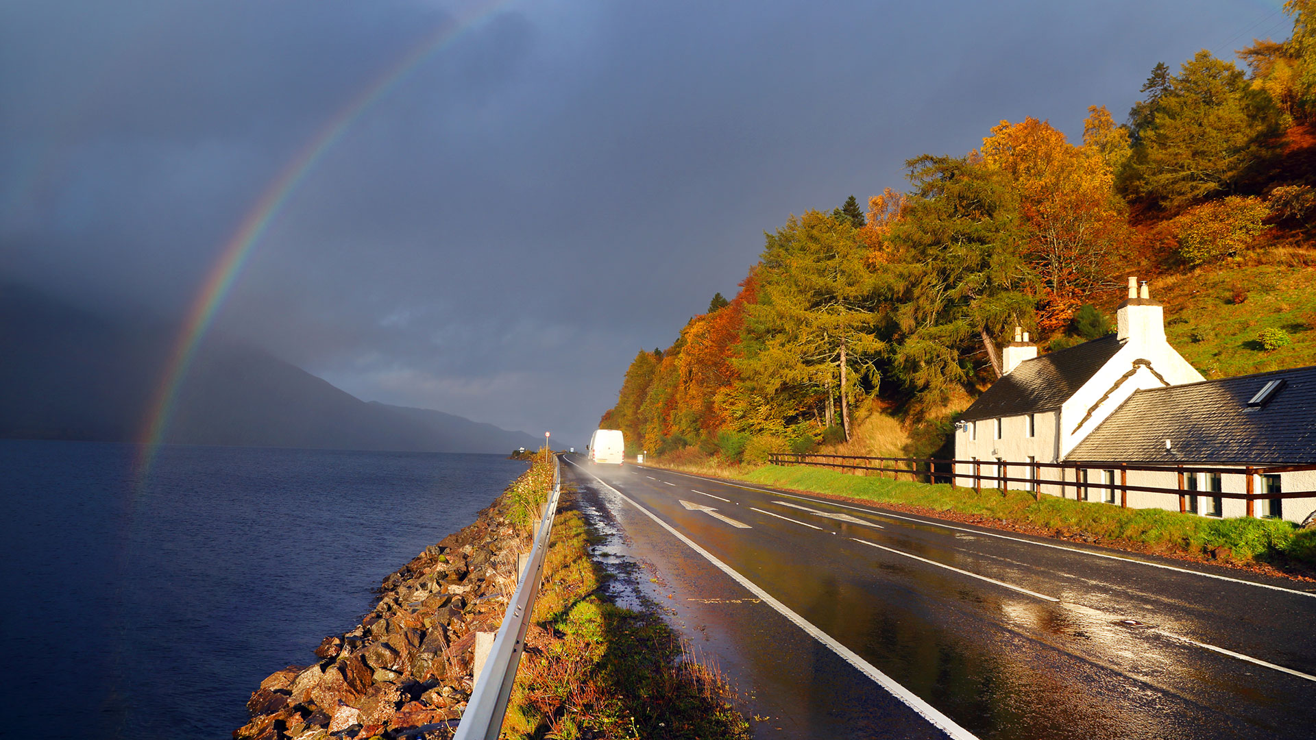 scotland_road_self_drive_rainbow_autumn