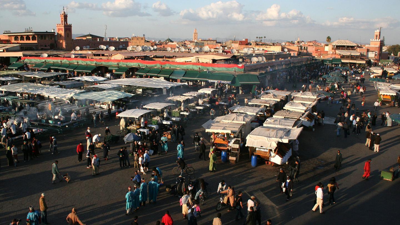 Morocco-Marrakech-Djemaael-Fna